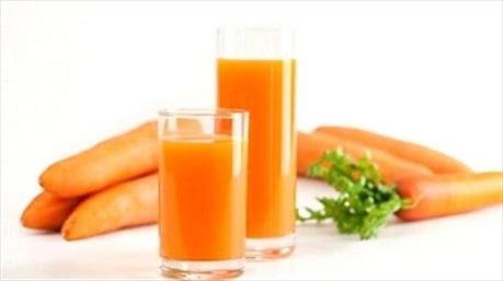 6 lợi ích không ngờ của nước ép cà rốt