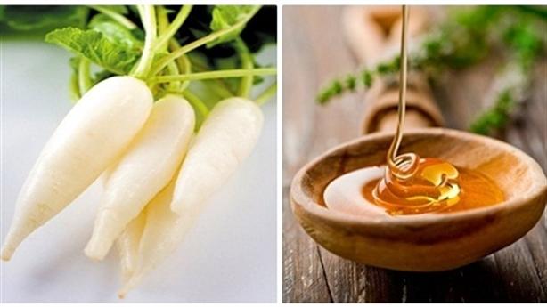 Ăn củ cải trắng kết hợp với thứ này, cơn ho chấm dứt nhanh chóng, long đờm, bổ phổi